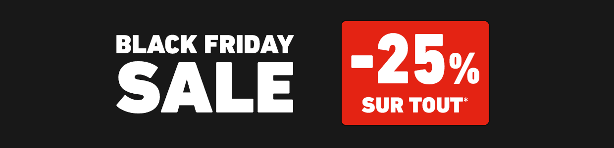 Black Friday -25%