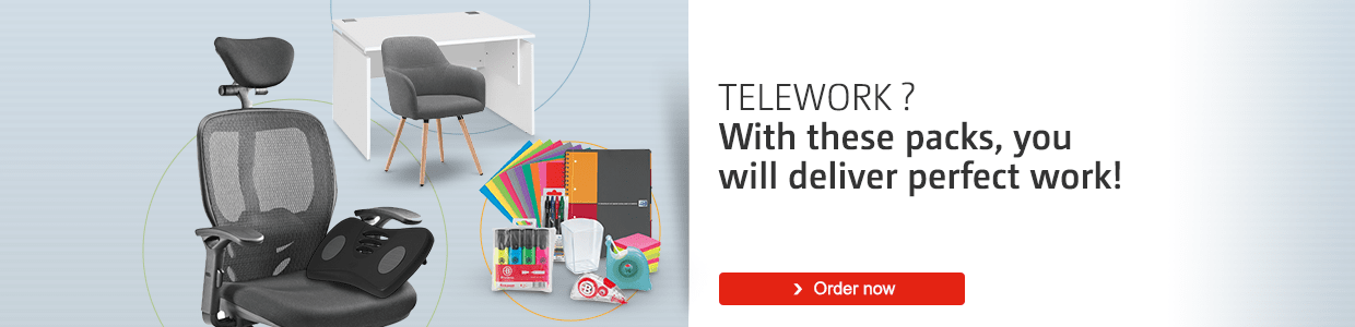 Telework ? With these packs, you will deliver perfect work!