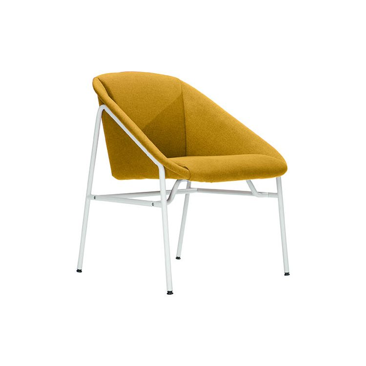 Low armless chair NOTO