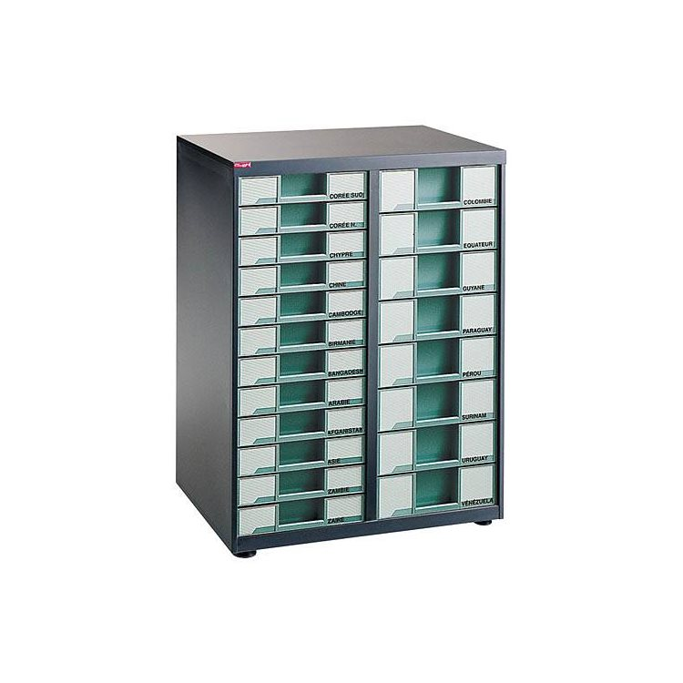 Clen filing cabinet large capacity counter 2 columns