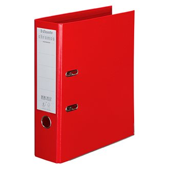 Lever arch files Chromos Plus with back 8 cm in trendy and classic colours