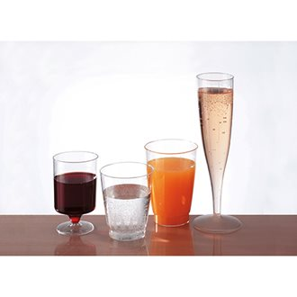 Box of 100 champagne glasses, 13,5 cl
