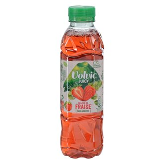 Volvic Juicy with strawberry juice 50 cl - Box of 24