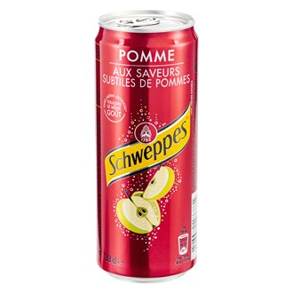 Schweppes apple cans 33 cl - pack of 24