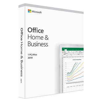 Microsoft Office Home and Business 2019 - 1 licence