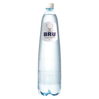 Pack of 6 bottles sparkling wasser Bru of 1.25L