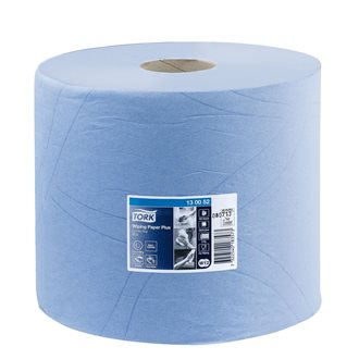 Cleaning paper roll Tork W1/2 Advanced Plus blue length 225 m