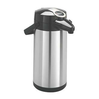 Isotherm coffee jar in inox Bravilor 2,2 litres with pump