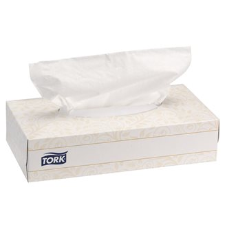 Tork, box of 100 handkerchiefs