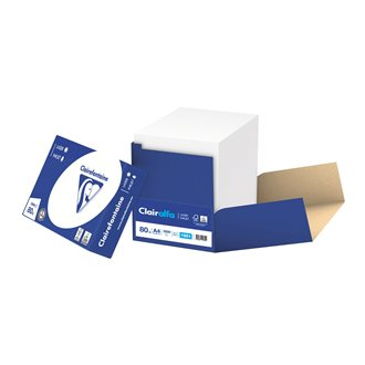 Paper A4 white 80 g Clairefontaine - Box of 2500 sheets