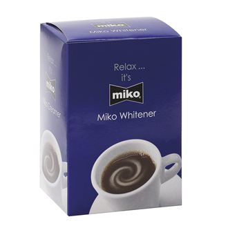 Box with 100 bags of milk powder Whiteners