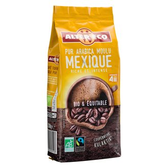 Pak 260 g gemalen koffie Mexique Alter Eco