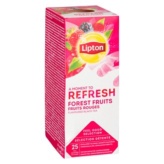 Lipton tea forest fruits - box of 25 bags