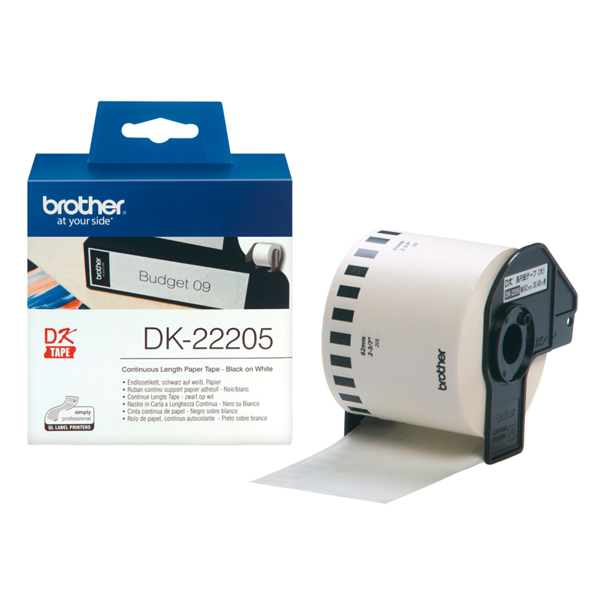 5x Brother Compatible DK22205 No Holder Labels 700 710W 720NW 1050 QL Printers