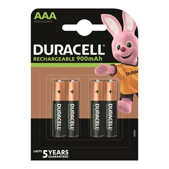 Blister 4 batteries Stay charged AAA