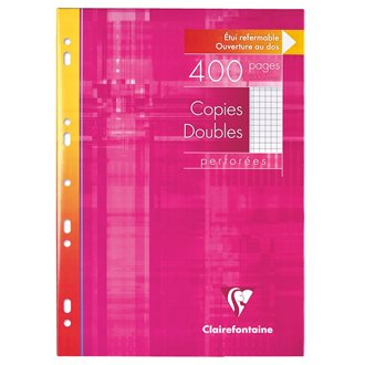 Notebook 400 double copies 5x5