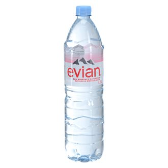 Mineral water Evian bottle 1,5 l - pack of 12
