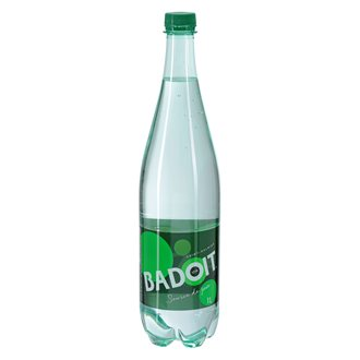 Pack of 6 bottles sparkling water Badoit 1 L