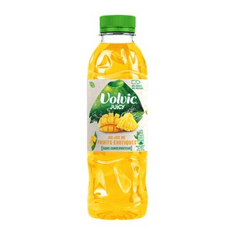 Water Volvic Juicy exotic bottle 50 cl - Pack of 24