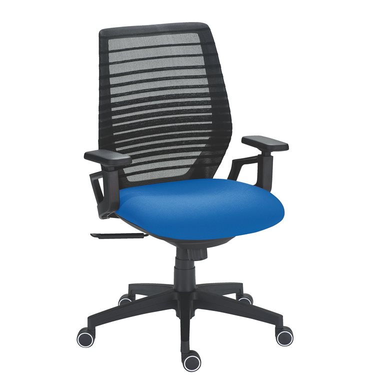Office chair Urban - synchronous - back mesh seat fabric