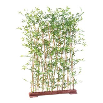 Artificial plant for inside hedge of Japanese bamboo 190 cm