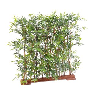 Artifical plant hedge of Japanese bamboo tight 110 cm