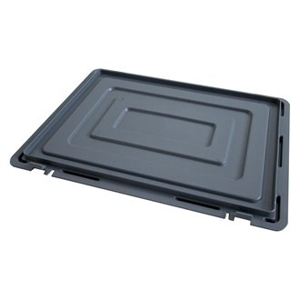 Lid for stackable storage box in plastic Viso 60 x 40 cm