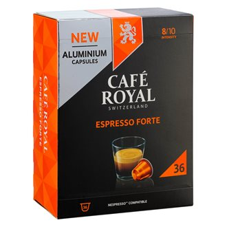 Coffee capsules Café Royal Espresso Forte - box of 36