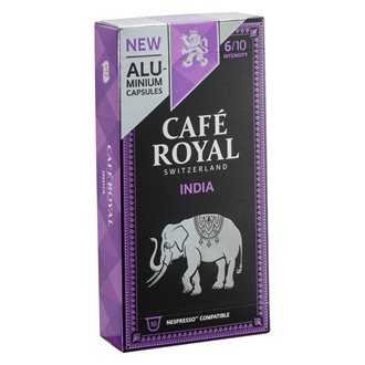 Coffee capsules Café Royal India - box of 10
