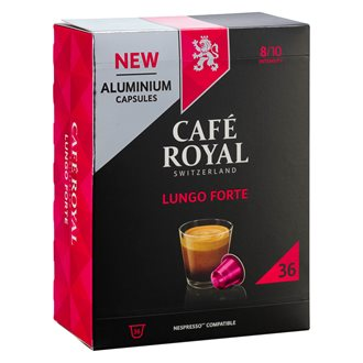 Coffee capsules Café Royal Lungo Forte - box of 36