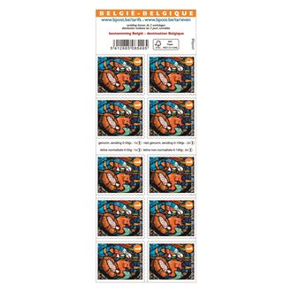 Christmas stamps - blister of 100 stamps