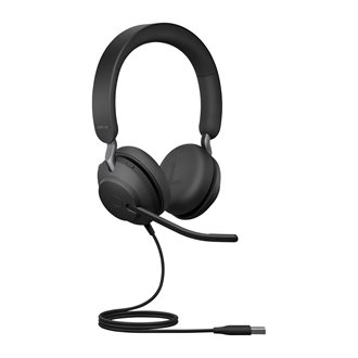 Headphone with wire Jabra Evolve 2 40 - 2 auricles MS