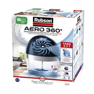 Absorbeur d'humidité Aero 360° Rubson + 1 recharge
