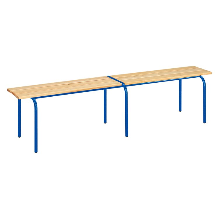 Stackable school bench L 200 cm