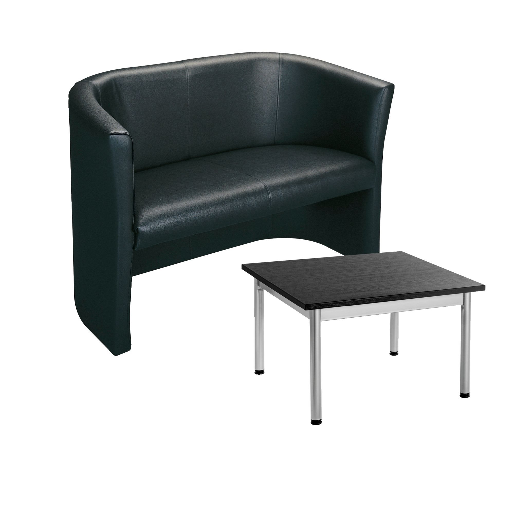 Pack sofa Premium and low squared table classic