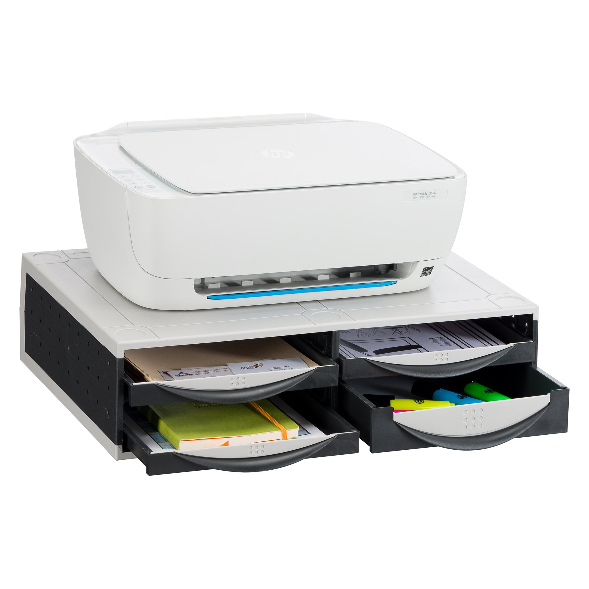 Support for printers and fax Fellowes