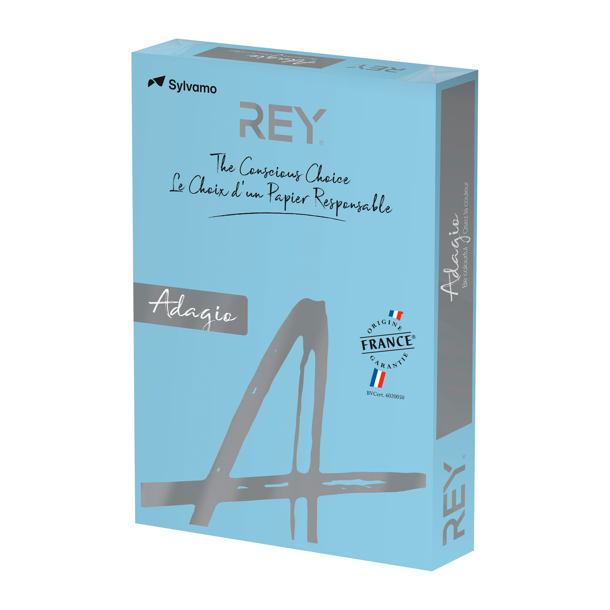 Paper colour A3 80 g Rey Adagio pastel colours - Ream of 500 sheets
