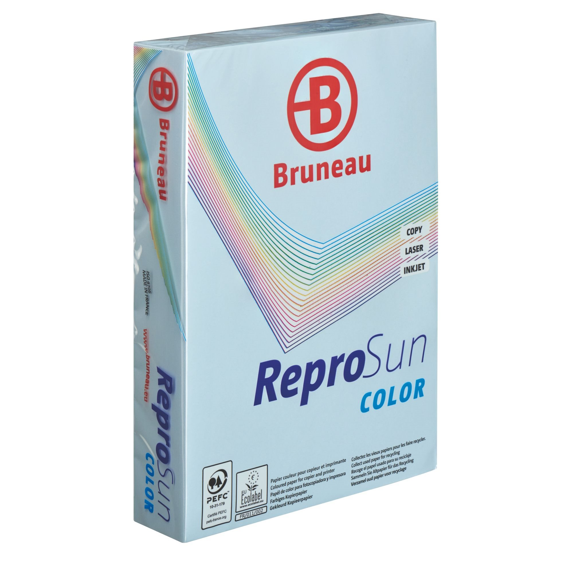 Repro Sun, ream of 500 sheets, A4, 80 g, pastel colours