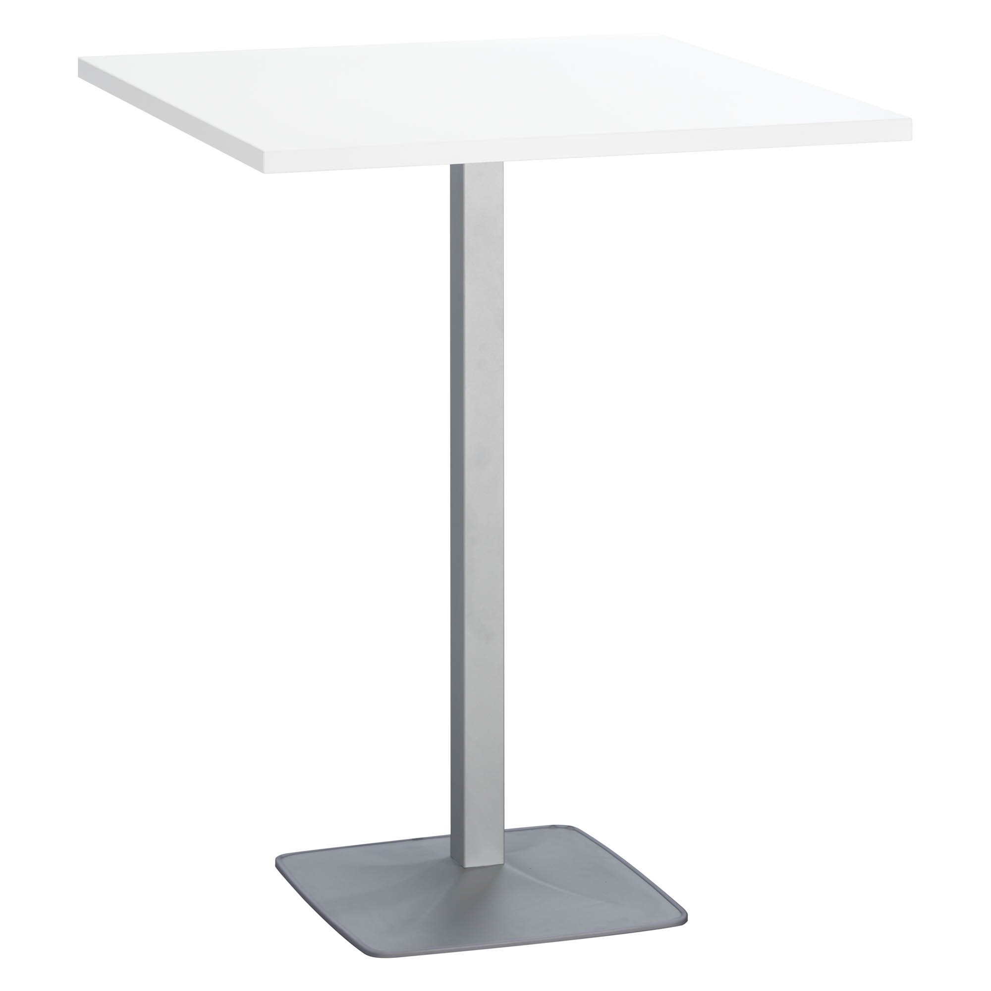 Squared meeting table white