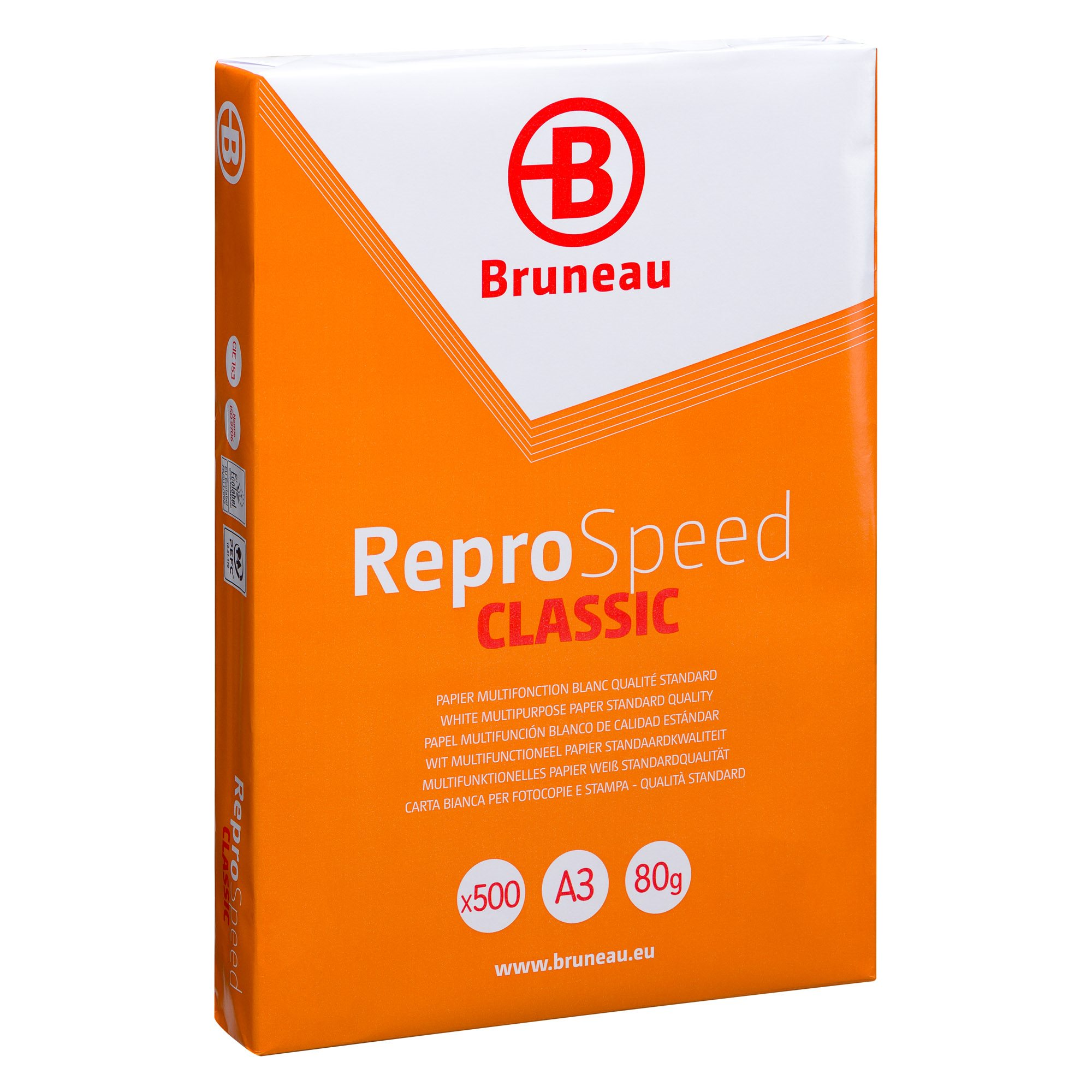 Package paper Bruneau Reprospeed A3 80 gr - 500 sheets - white