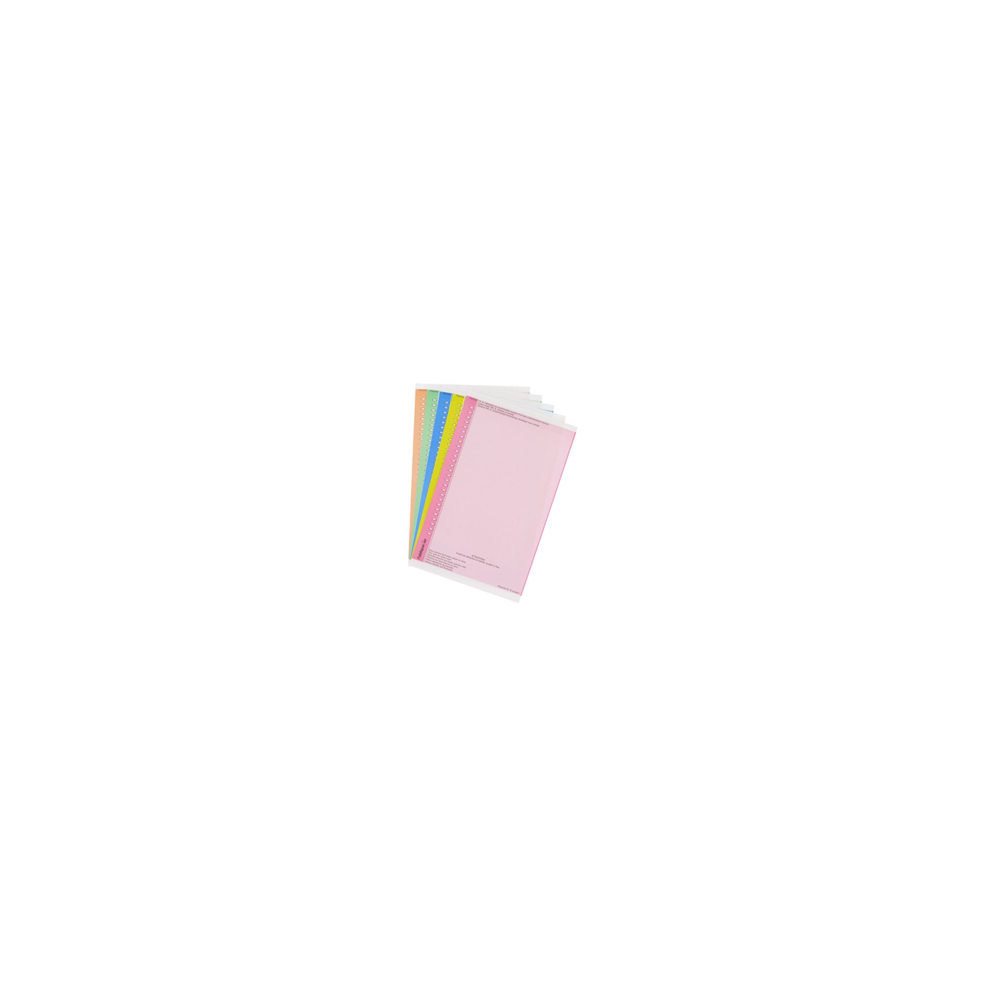 Sachet of 10 sheets with labels n°8 for cupboards