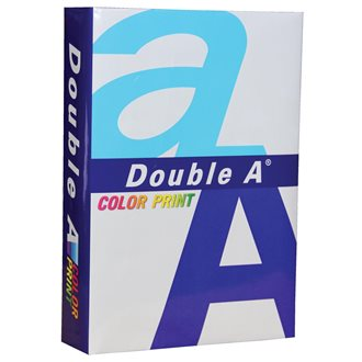 Double A Color Print papier d'impression ft A4, 90 g, paquet de 500 feuilles