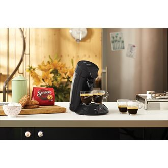 Philips Senseo Original HD6554 - Kaffeemaschine - 1 bar - Raven Black