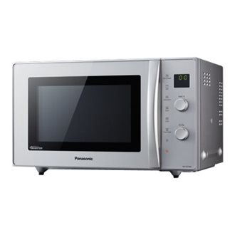 Panasonic NN-CD575MEPG - four micro-ondes combiné - grill - pose libre - argent