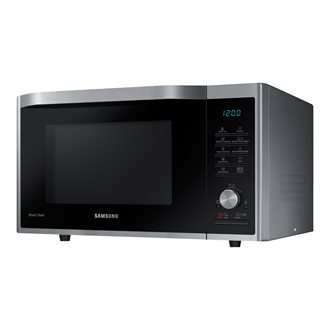 Samsung MC32J7055CT - microwave oven with convection and grill - freestanding - neo stainless silver