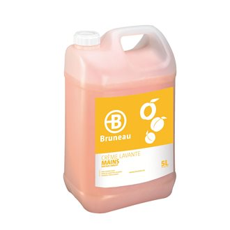 Pack 1 +1  hand soap Bruneau apricot - can of 5 L