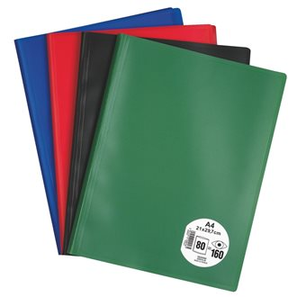 Document holder Eco polypropylene non-transparent A4 80 sleeves - 160 sights