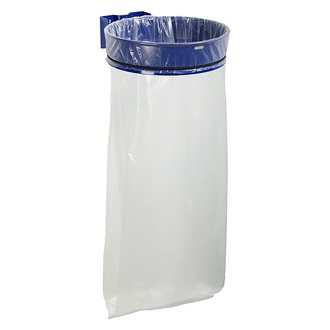 Garbage bag holder with wall attachement 110 L Rossignol Ecollecto blue
