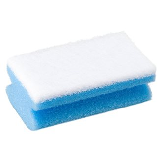 Synthetic sponge - blue and white