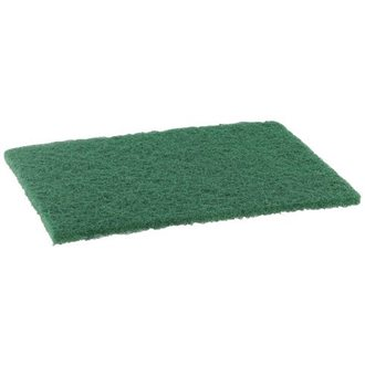 Pack of 10 scouring pads, 225x140 mm